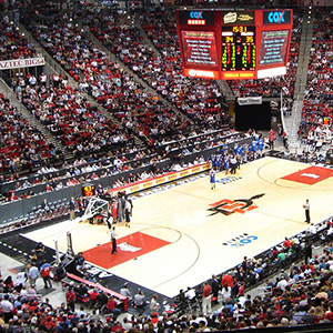 Cox Arena Basketball at SDSU
