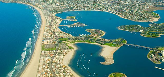 "Mission Bay Park is the largest park of its kind in the world. The 4,600-acre aquatic playground is surrounded by 27 miles of shoreline, with a variety of waterways, inlets <a href=""https://ali.sdsu.edu/blog/2014/07/neighborhood-spotlight-mission-baymission-beach/#more-'"" class=""more-link"">more »</a>"